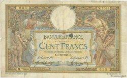 100 Francs LUC OLIVIER MERSON sans LOM FRANCE  1920 F.23.13 B