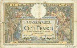 100 Francs LUC OLIVIER MERSON sans LOM FRANCE  1923 F.23.16 AB