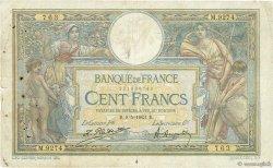 100 Francs LUC OLIVIER MERSON sans LOM FRANCE  1923 F.23.16 B