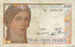 300 Francs FRANCE  1938 F.29.01 pr.TB