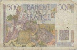 500 Francs CHATEAUBRIAND FRANCE  1945 F.34.01 B