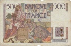 500 Francs CHATEAUBRIAND FRANCE  1945 F.34.01 B à TB