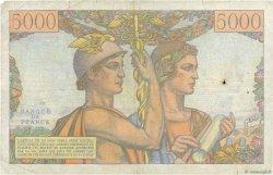5000 Francs TERRE ET MER FRANCE  1949 F.48.01 pr.TB