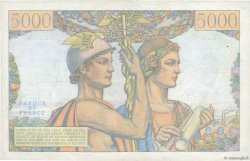 5000 Francs TERRE ET MER FRANCE  1951 F.48.04