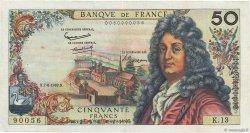 50 Francs RACINE FRANCE  1962 F.64.01 TTB