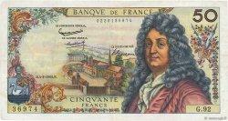 50 Francs RACINE FRANCE  1965 F.64.08 TTB
