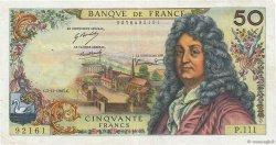 50 Francs RACINE FRANCE  1967 F.64.10 TB