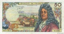 50 Francs RACINE FRANCE  1973 F.64.24 TTB+