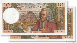 10 Francs VOLTAIRE FRANCE  1967 F.62.27 SPL