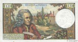 10 Francs VOLTAIRE FRANCE  1973 F.62.65 TTB