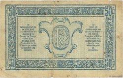 50 Centimes TRÉSORERIE AUX ARMÉES FRANCE  1917 VF.01.01 TB