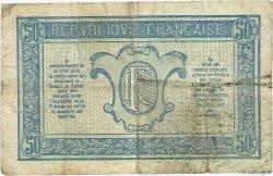 50 Centimes TRÉSORERIE AUX ARMÉES FRANCE  1917 VF.01.04 TB+