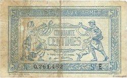 50 Centimes TRÉSORERIE AUX ARMÉES FRANCE  1917 VF.01.05 TB+