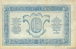 50 Centimes TRÉSORERIE AUX ARMÉES FRANCE  1917 VF.01.10 TTB