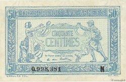 50 Centimes TRÉSORERIE AUX ARMÉES FRANCE  1917 VF.01.14 SPL