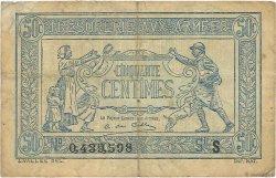 50 Centimes TRÉSORERIE AUX ARMÉES FRANCE  1919 VF.02.02 TB