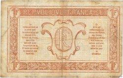 1 Franc TRÉSORERIE AUX ARMÉES FRANCE  1917 VF.03.05 TB+