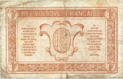 1 Franc TRÉSORERIE AUX ARMÉES FRANCE  1917 VF.03.08 TB+