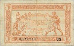 1 Franc TRÉSORERIE AUX ARMÉES FRANCE  1919 VF.04.16 TTB