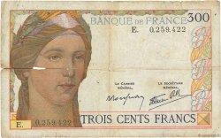 300 Francs FRANCE  1938 F.29.01 AB