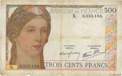 300 Francs FRANCE  1939 F.29.03 B+