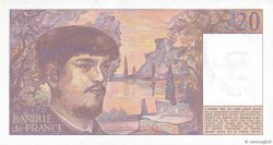 20 Francs DEBUSSY FRANCE  1982 F.66.03 SPL
