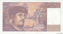 20 Francs DEBUSSY FRANCE  1983 F.66.04 pr.SPL