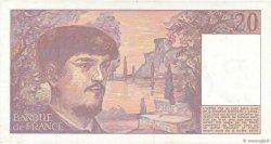 20 Francs DEBUSSY FRANCE  1983 F.66.04 TTB+