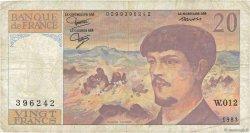 20 Francs DEBUSSY FRANCE  1983 F.66.04 B