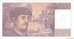 20 Francs DEBUSSY FRANCE  1984 F.66.05 SUP