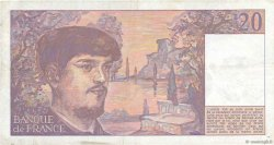 20 Francs DEBUSSY FRANCE  1985 F.66.06 TTB