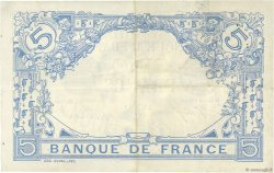5 Francs BLEU FRANCE  1915 F.02.25 pr.SUP