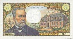 5 Francs PASTEUR FRANCE  1966 F.61.01 SUP+