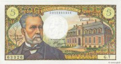 5 Francs PASTEUR FRANCE  1966 F.61.01 SPL