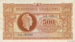 500 Francs MARIANNE FRANCE  1945 VF.11.01 SUP+
