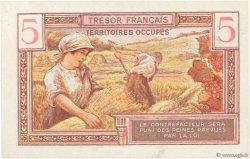 5 Francs TRÉSOR FRANÇAIS FRANCE  1947 VF.29.01 pr.SPL