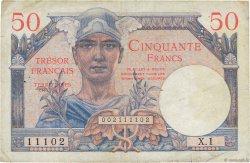 50 Francs TRÉSOR FRANÇAIS FRANCE  1947 VF.31.01 TTB