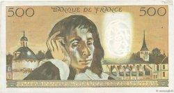 500 Francs PASCAL FRANCE  1968 F.71.01 TB+