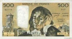 500 Francs PASCAL FRANCE  1970 F.71.05 TB