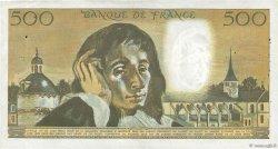 500 Francs PASCAL FRANCE  1970 F.71.05 TTB