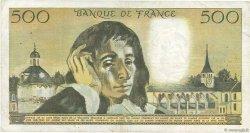 500 Francs PASCAL FRANCE  1970 F.71.05 TB+