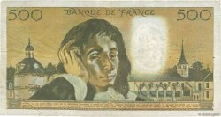 500 Francs PASCAL FRANCE  1973 F.71.10 TB