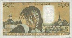 500 Francs PASCAL FRANCE  1973 F.71.10 TB+