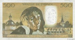500 Francs PASCAL FRANCE  1974 F.71.11 TTB