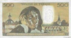 500 Francs PASCAL FRANCE  1975 F.71.13 TTB+