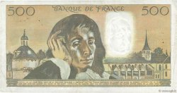 500 Francs PASCAL FRANCE  1975 F.71.13 pr.TTB
