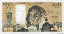 500 Francs PASCAL FRANCE  1976 F.71.14 TTB+