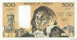 500 Francs PASCAL FRANCE  1977 F.71.16 TB+