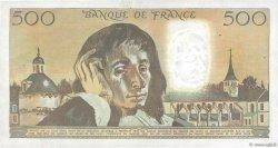500 Francs PASCAL FRANCE  1980 F.71.21 pr.TTB