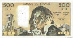 500 Francs PASCAL FRANCE  1980 F.71.21 TTB